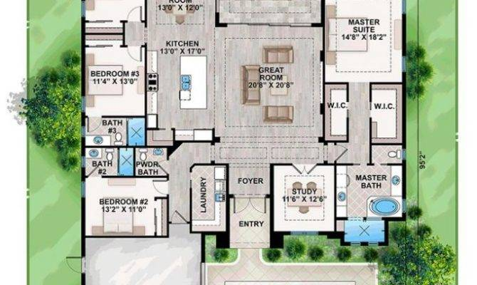 Florida Home Designs Floor Plans Best Top