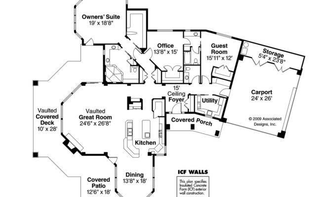 Florida House Plan Burnside Floor