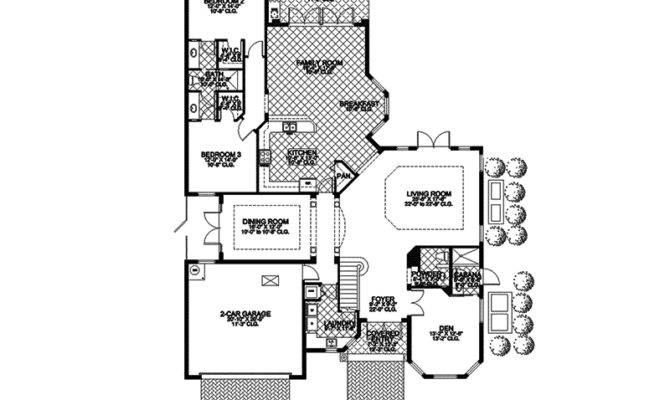 Florida House Plan First Floor Plans More