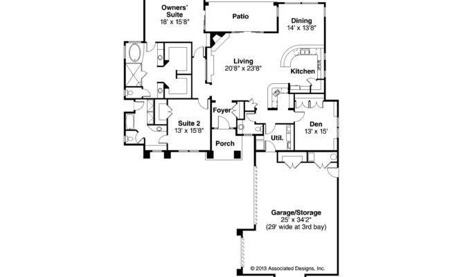 Florida House Plan Suncrest Floor