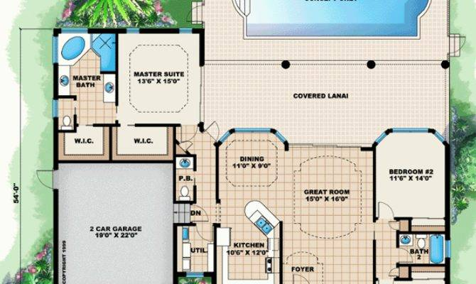 Florida House Plans Style Home Floor