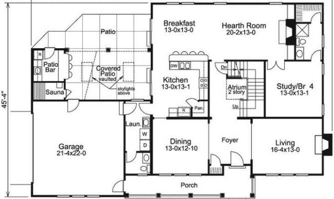 Forest Lake Contemporary House Plan Alp Chatham Design Group
