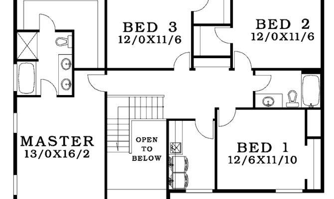 Four Bedroom House Plans Small