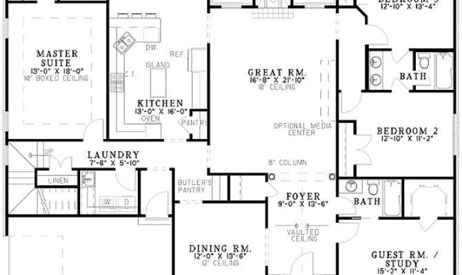 Four Bedroom Split Level House Plans Home Design Style