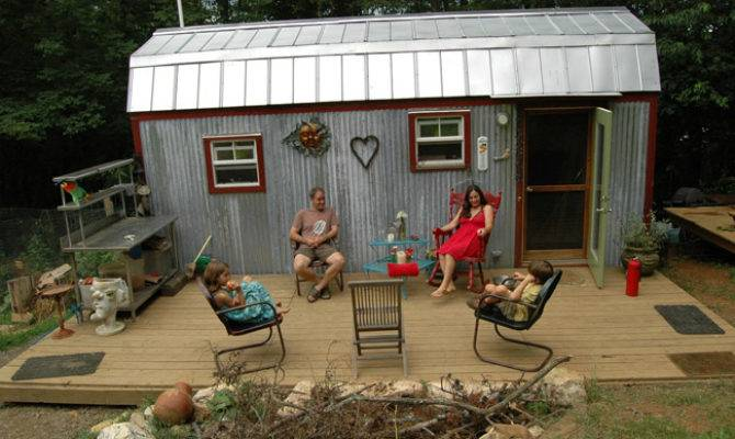 Four Square Feet Tiny House Outdoor Seating