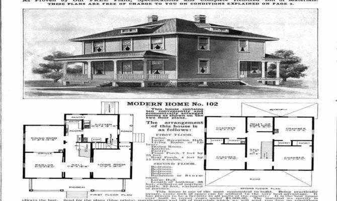Four Square House Floor Plans