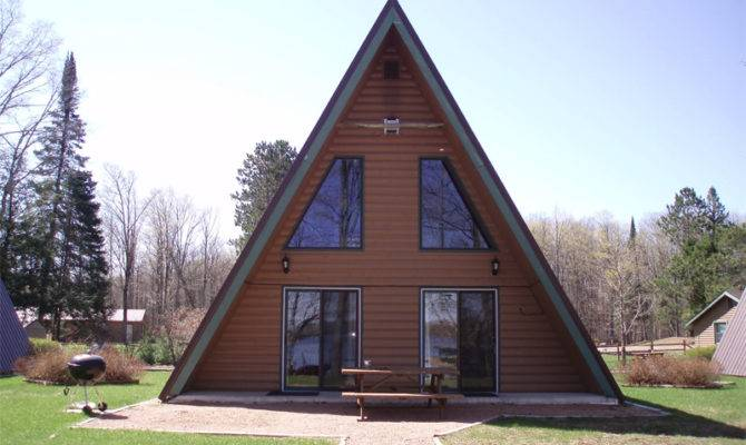 Frame Cabin Outside Front