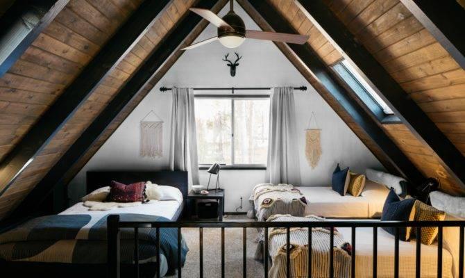 Frame Cabin Transformed Into Light Filled Modern