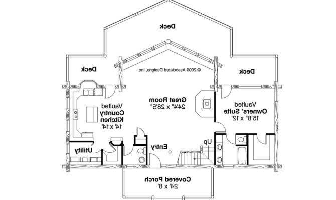 Frame House Plan Aspen Floor