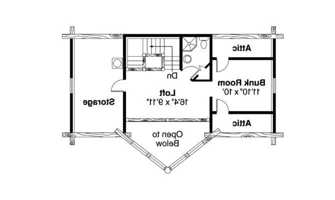 Frame House Plan Chinook Floor
