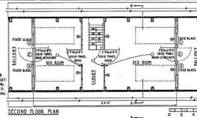 Frame House Plan Feet High
