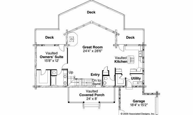 Frame House Plan Kodiak Floor
