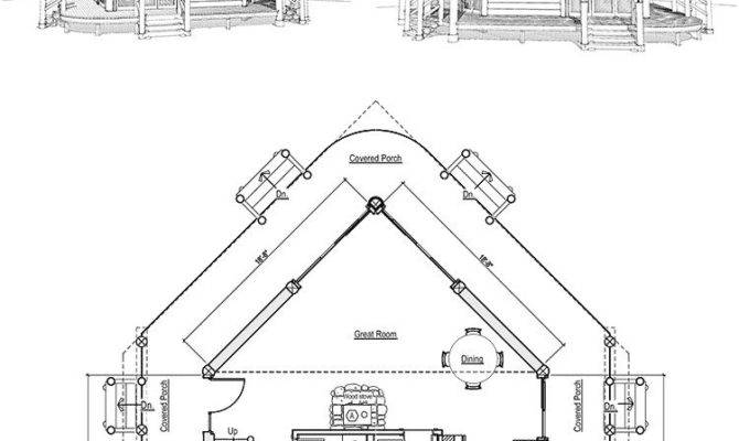 Frame Log Cabin Floor Plans New