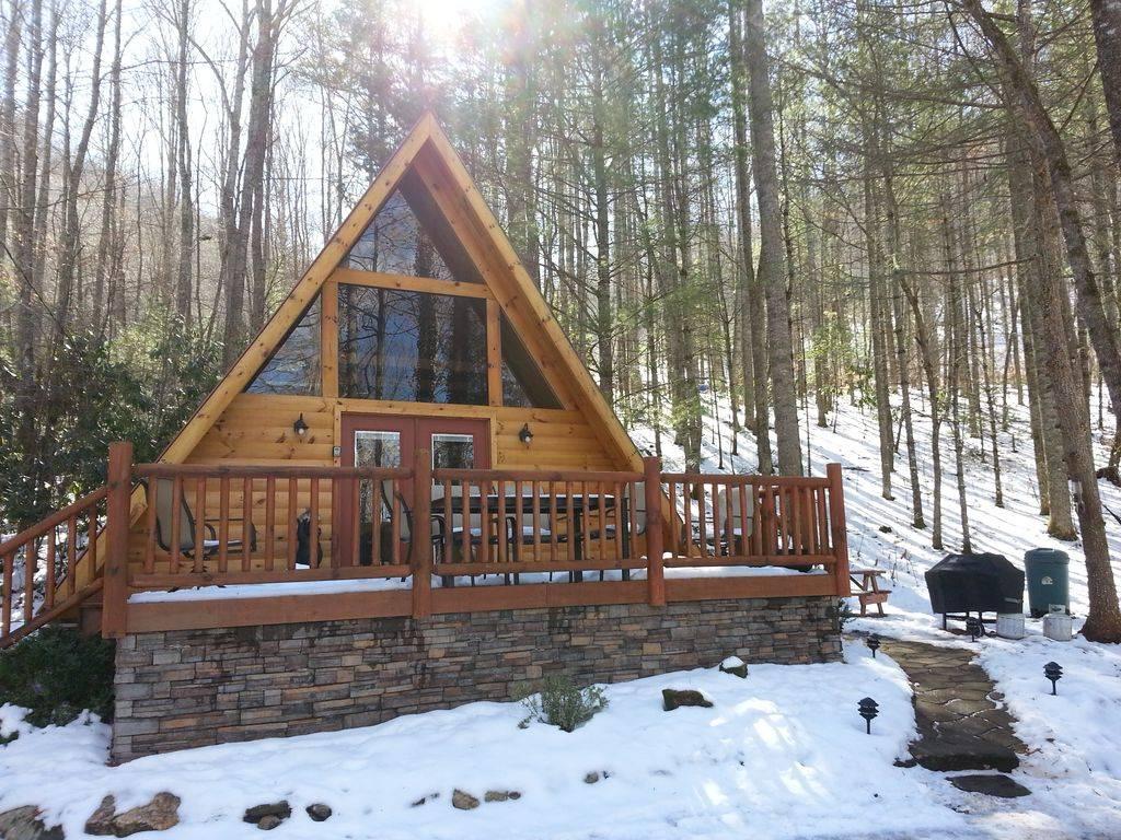 Frame Log Cabin Woods Wifi Hot Homeaway