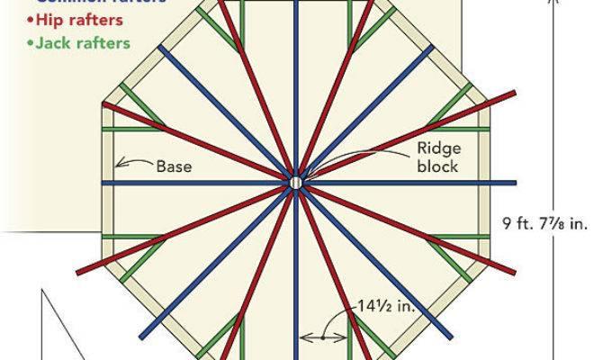 Framing Octagonal Turret Roof Fine Homebuilding