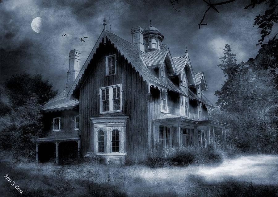 Fran Scott Gothic House Graphic