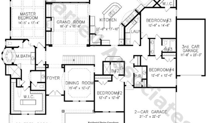 Franciscan House Plan Floor Ranch Style
