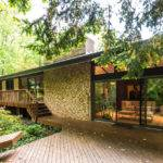 Frank Lloyd Wright Inspired House Modern Exterior
