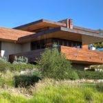 Frank Lloyd Wright Inspired House Plans Exterior Asian