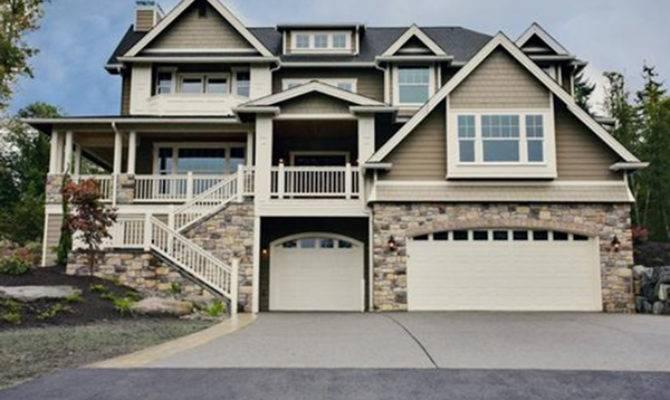 Freestone Multi Level Home Plan House Plans
