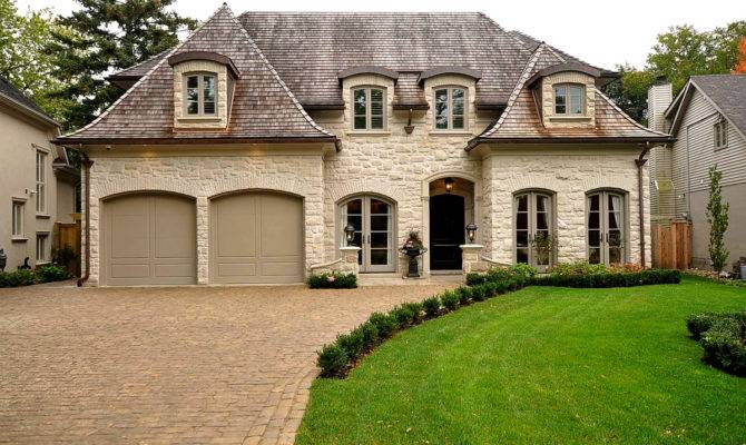 French Chateau Home Plans Affordable Rock Stone Okc