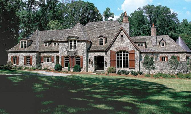 French Chateau Home Plans Pin Pinterest