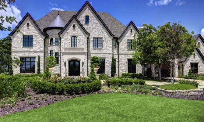 French Chateaux Style Dream Home Southlake Texas