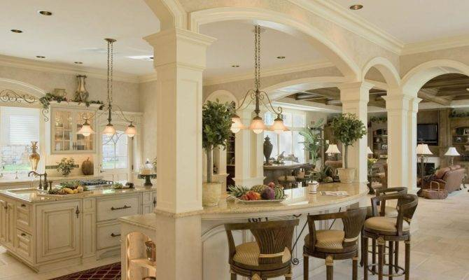 French Colonial Kitchen Designed Efficient