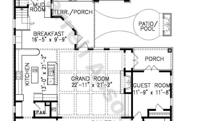 French Colonial Style House Plans