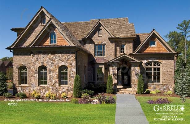 French Cottage Style Home Plans Design
