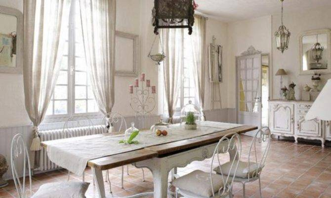 French Country Dining Room Decor Modern