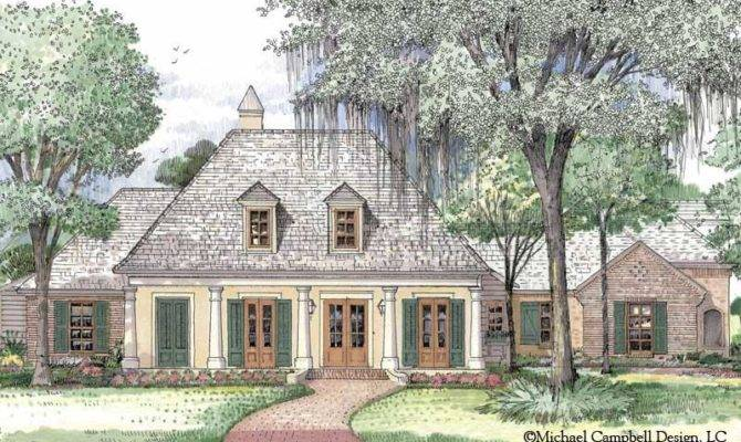 French Country House Plans Louisiana Home Deco