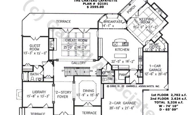 French Country House Plans Square Feet
