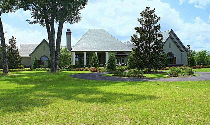 French Country Manor Estate Ocala Horse Farm Sale