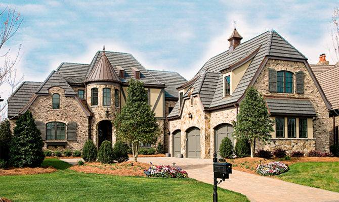 French Country Manor Floor Master Suite