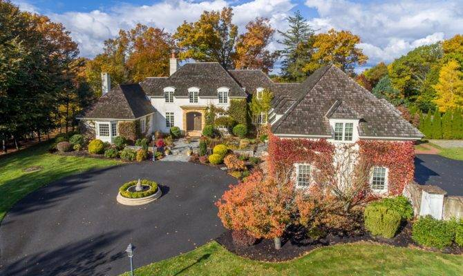 French Country Manor Wenham United States Sale