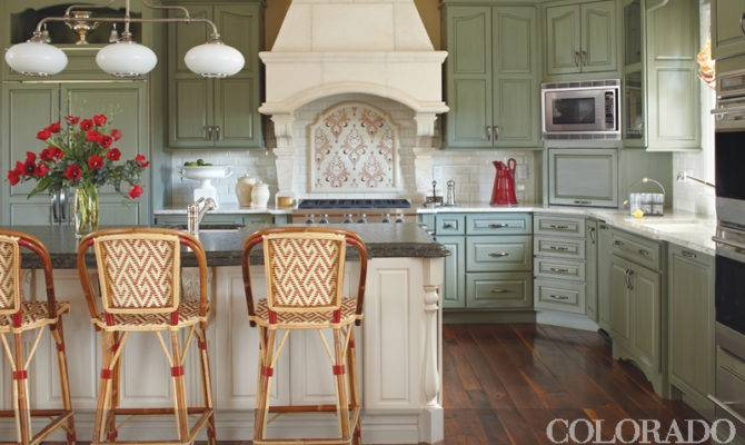 French Country Style Colorado Home Decorating Ideas