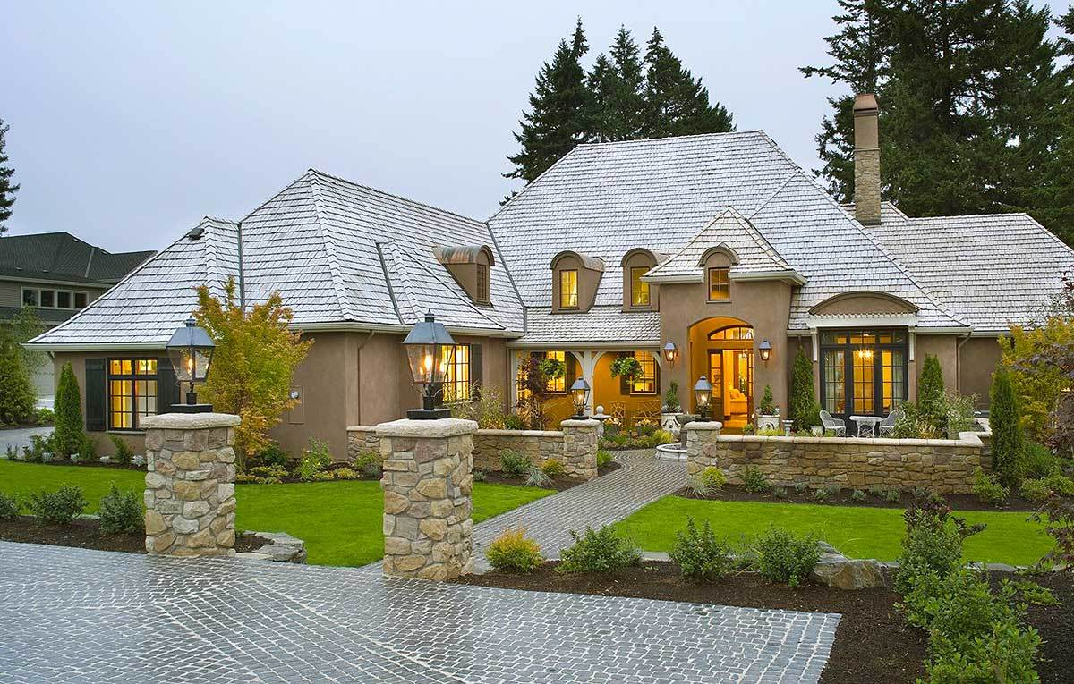 French Country Style House Plans Photos