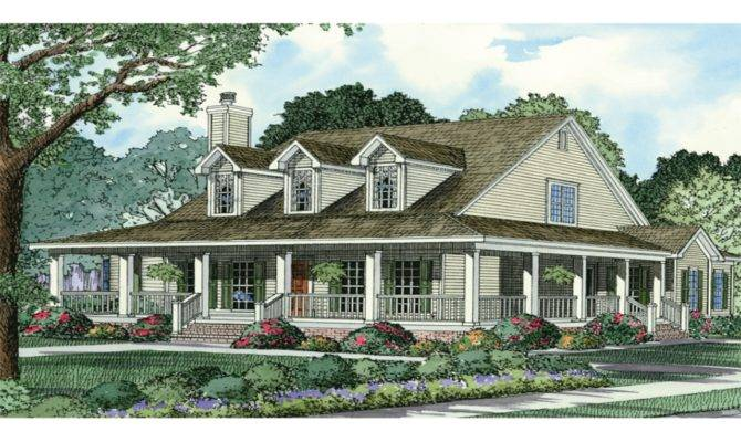 French Country Style Ranch Home Plans