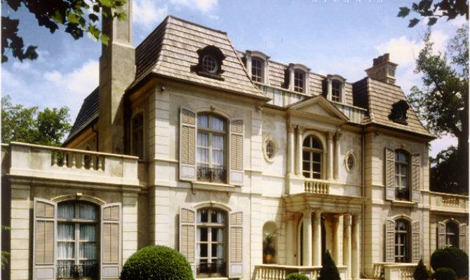 French Neoclassical House Atlanta