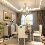 French Neoclassical Interior Dining Room