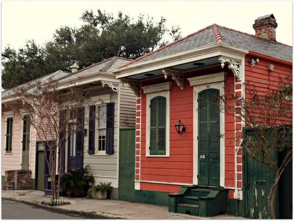 French Quarter House Styles Design Plans
