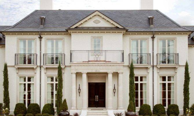 French Style House Provincial