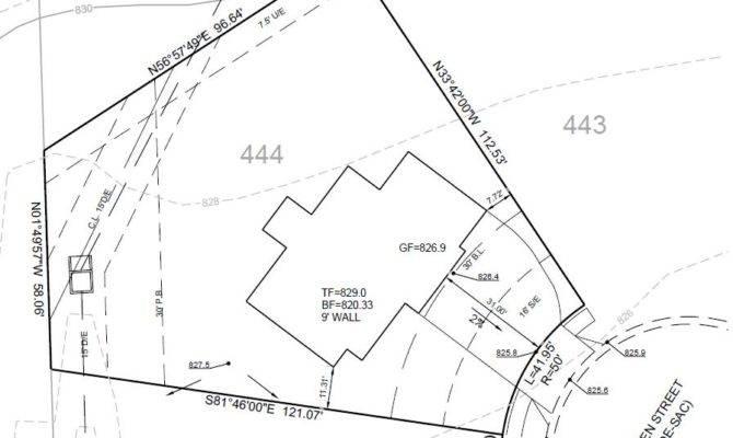 Fresh House Plot Plan Plans