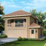 Fresno Bay Southwestern House Plan Alp Chatham Design Group