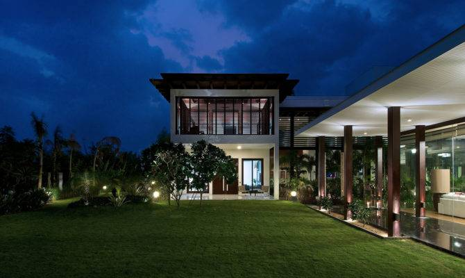 Frill House Designed Hiren Patel Architects
