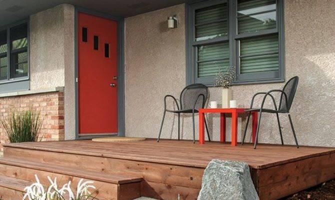 Front Door Deck Designs