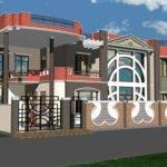 Front Elevation Building Design