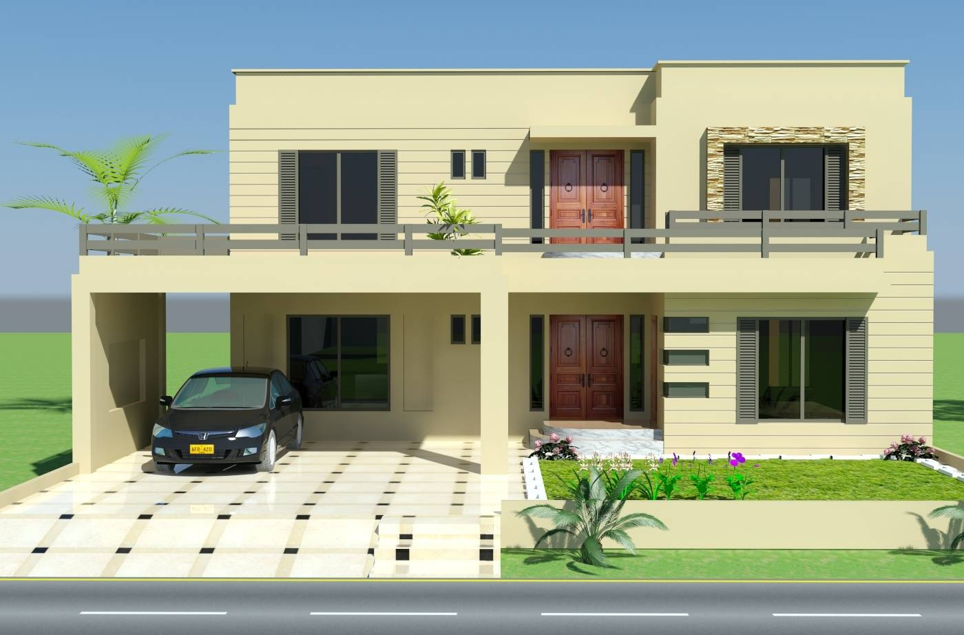 Front Elevation Home Designs Pakistan Design