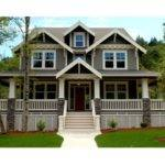 Front Elevation Houseplans House Ideas Plan Dream